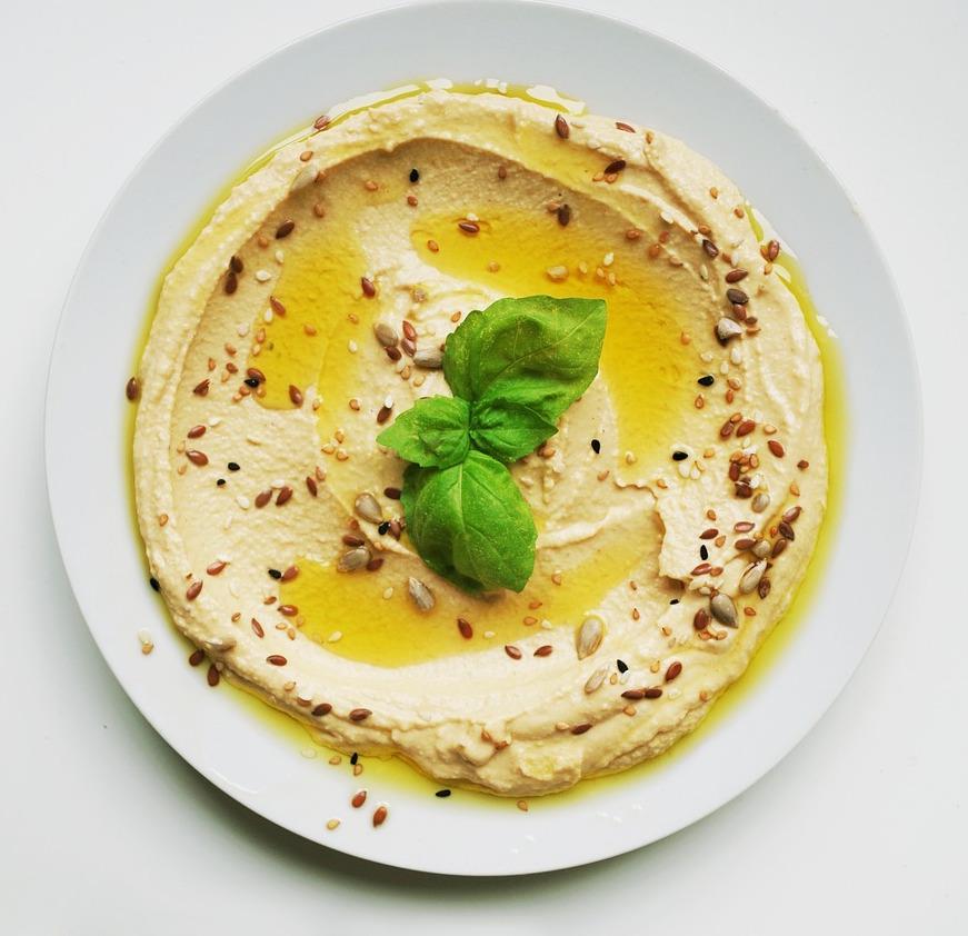 hummus olive oil